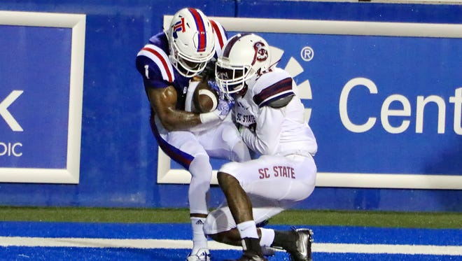 Louisiana Tech's depth chart remained mostly unchanged for week three at Texas Tech.