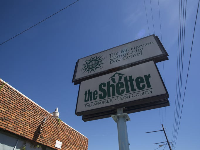 The old Shelter sign