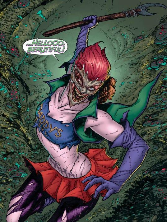 Joker Daughter page