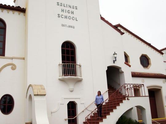 Judith Peterson, retiring principal at Salinas High School, June 30, 2017