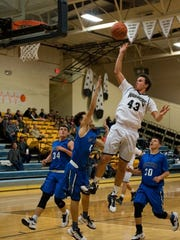 Ruidoso's Josh Romero is seen here at a recent game