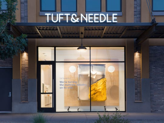 Tuft & Needle sells mattresses, bedding and other furniture directly to customers through its website.