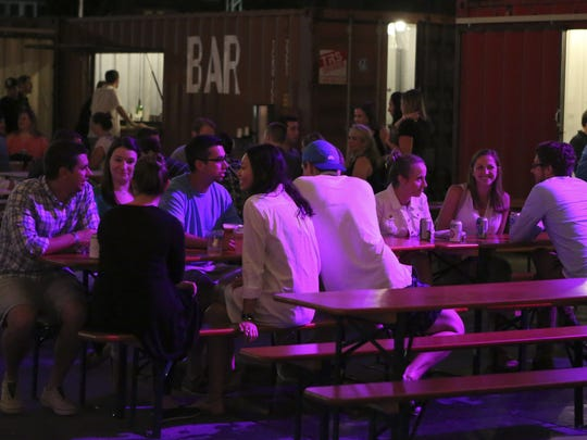 Local entrepreneurs, start-ups and creative professionals are hitting the Constitution Yards Beer Garden to network on Saturday.