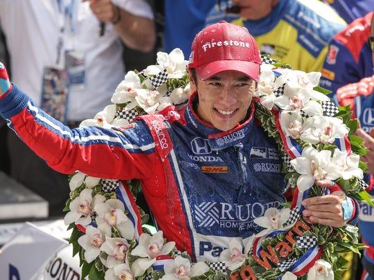 Andretti Autosport IndyCar driver Takuma Sato (26)