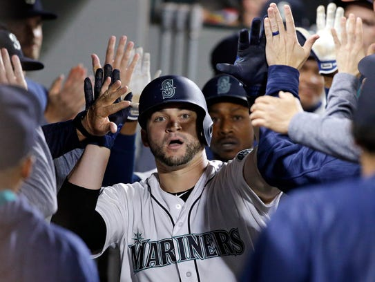 Mike Zunino has been on a hot streak since returning