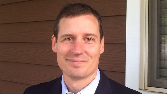 Garrett Artz is the new executive director of the Ashville nonprofit RiverLink.