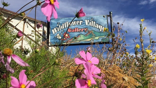 Wildflower Village, formerly a motel and art gallery, closed on Monday.
