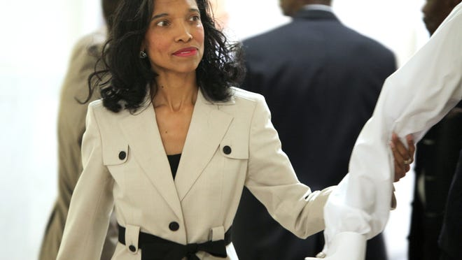 Suspended Judge Tracie Hunter, sentenced to six months in jail, is seeking to remain free while appealing her conviction.