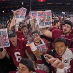 Scenes from the national championship in Arizona