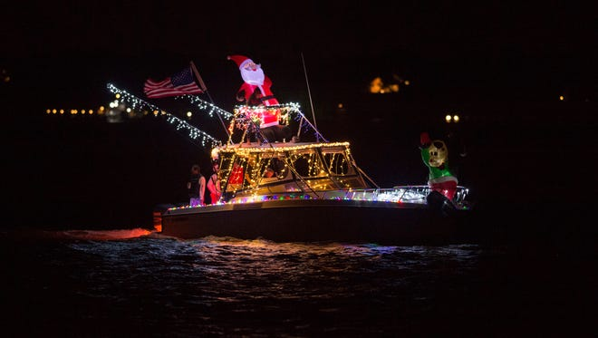 The 38th annual Martin County Christmas Boat Parade and the 28th annual St. Lucie County Christmas and Winter Holiday Boat Parade are Saturday.