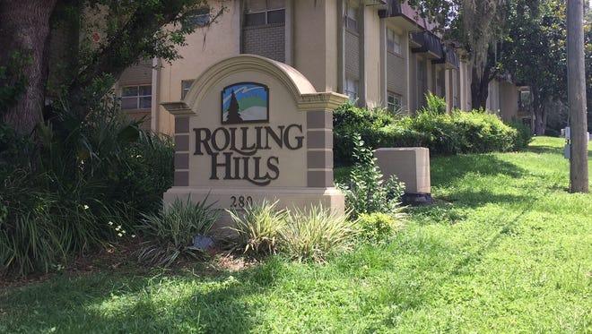 Rolling Hills Apartments on John Knox Road.