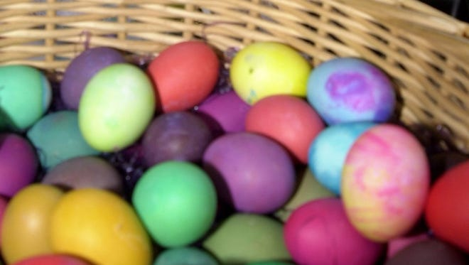 Colorful Easter eggs will be plentiful Saturday at the Egg Pockin' on the Bayou festival in Cottonport.