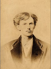 "This image of John ""Doc"" Holliday is one of only two that has been authenticated. It was taken when he graduated from dental school in 1872."