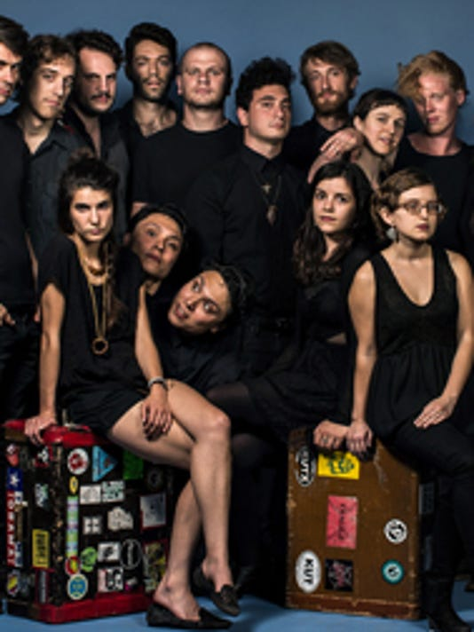 Mother Falcon's 17 members headed out from their hometown of Austin in 2013 to test the waters as a symphonic rock band. They'll join Ben Sollee at York's CapLive series in October.