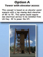 This is one of the concepts to rebuild Eagle Tower