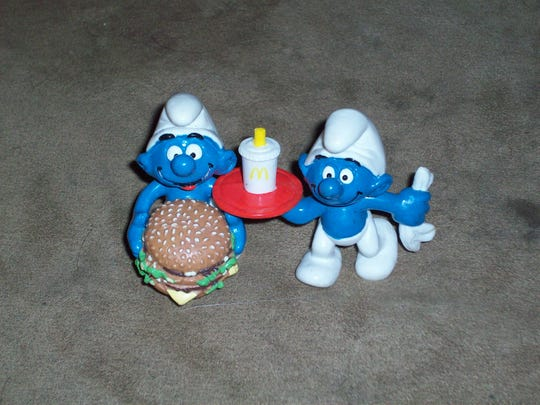 Hundreds of Smurf toys were among collectibles stolen from a storage unit in Rothschild.