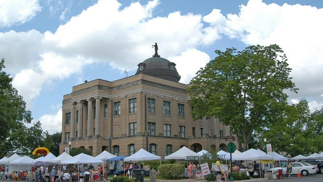 Williamson County Courthouse in Georgetown. Photo courtesy of City of Georgetown