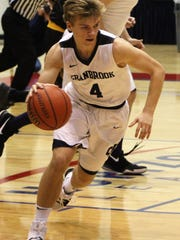 Junior guard Blake Doman finished with nine points in Sunday's historic Catholic League victory over Bishop Foley.