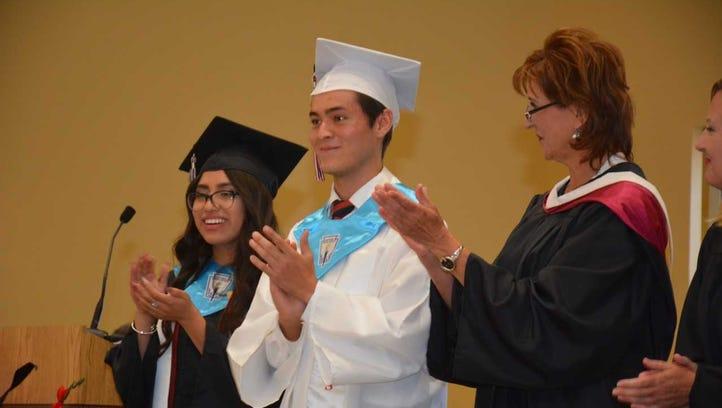 Alta Vista Early College High School graduates 62