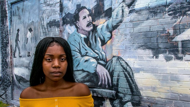 Tykera Kelly, a 14-year-old activist in the Black Lives Matter movement, says she intends to make history.