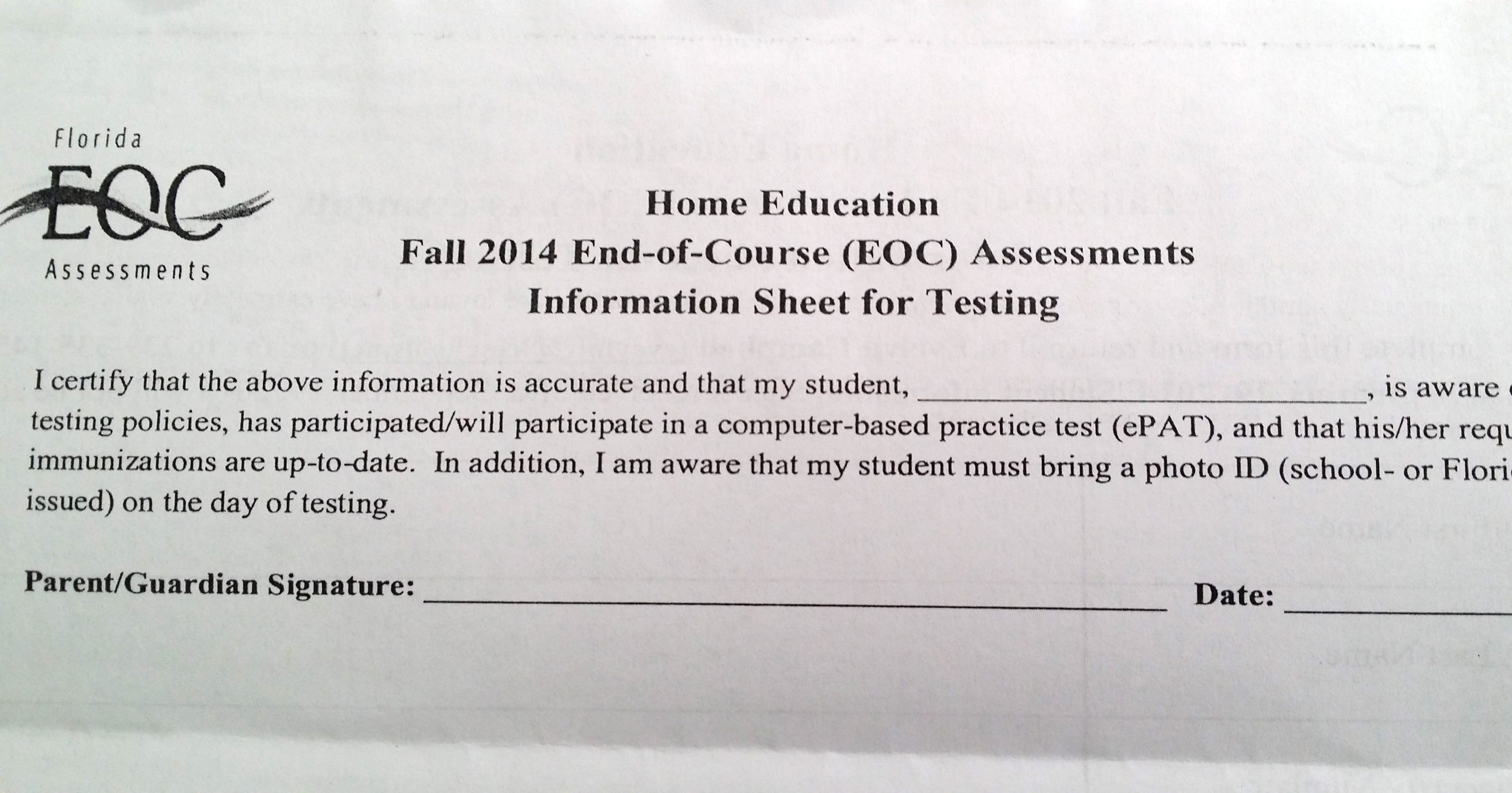 Confusion in wake of 'misleading' homeschool exam letter