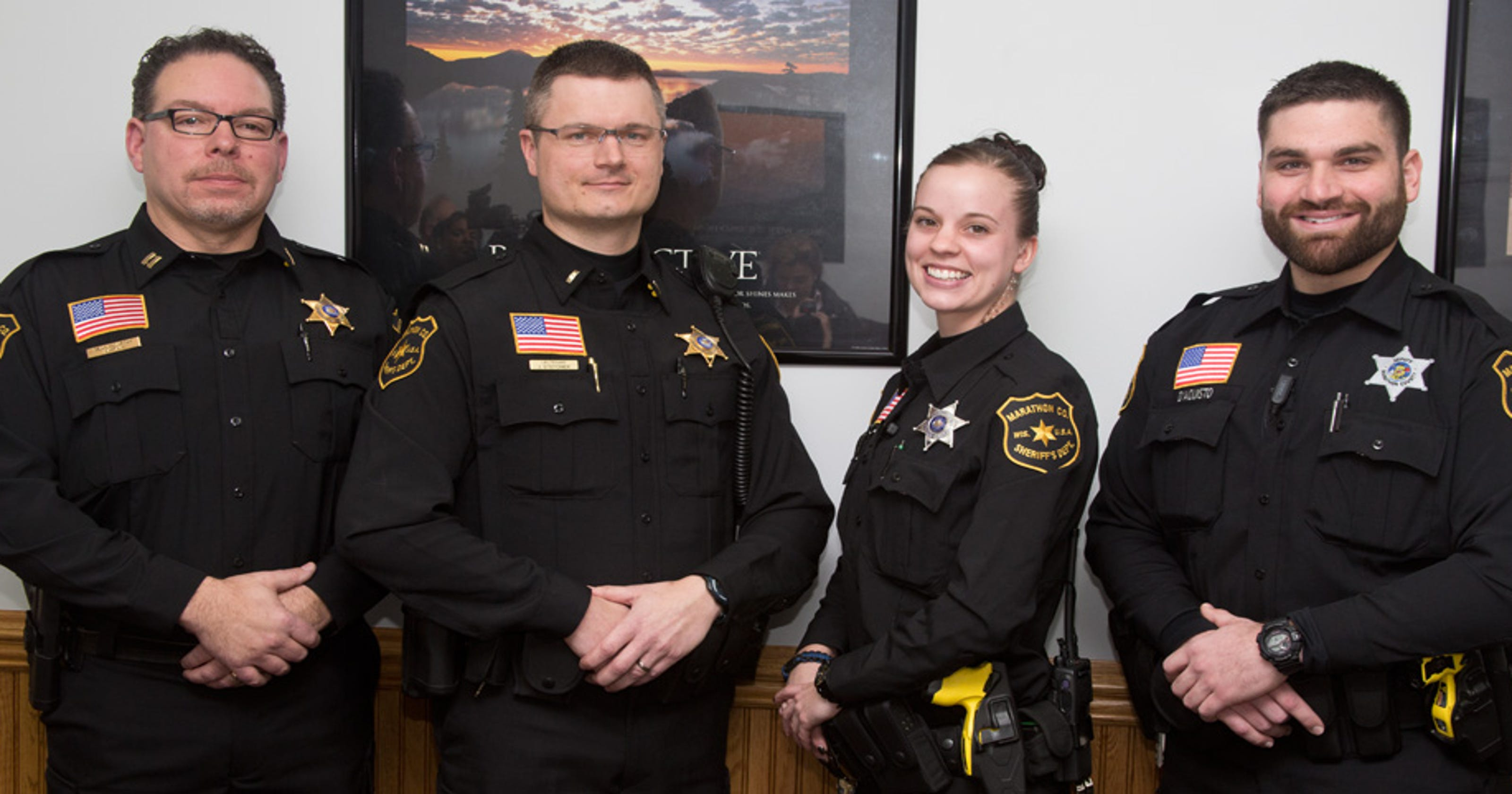 Marathon County Sheriff's Office gets new uniforms