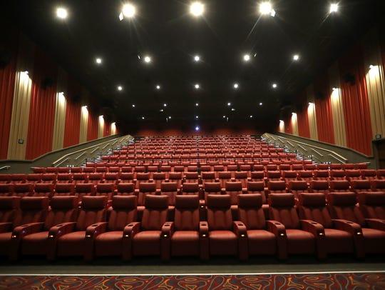 CMX Cinemas Fallschase prides itself on spacious recliners.