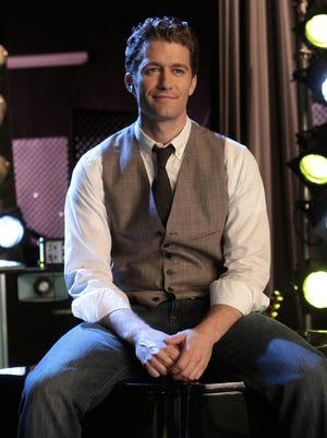 """Matthew Morrison is shown in a scene from, """"Glee."""""""