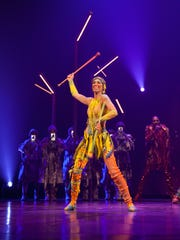"""Jennifer Marcus, Florida State University alumna and former FSU Marching Chiefs baton twirler. Marcus is performing in Cirque du Soleil's """"Volta"""" show."""