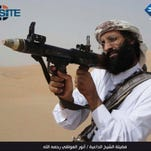 Video image of Anwar al-Awlaki, killed by a U.S. drone strike Sept. 30, 2011.