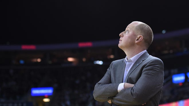 Kent State head coach Rob Senderoff is still trying to figure out his team, which has played just five games this season even though it's January.