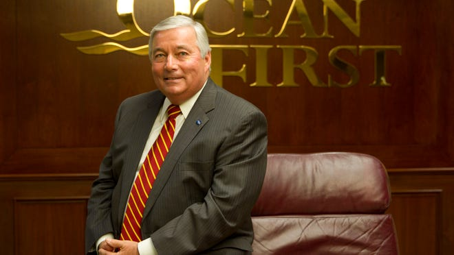 John Garbarino, chairman and chief executive officer of OceanFirst Financial Corp., started at the Toms River bank in 1971.