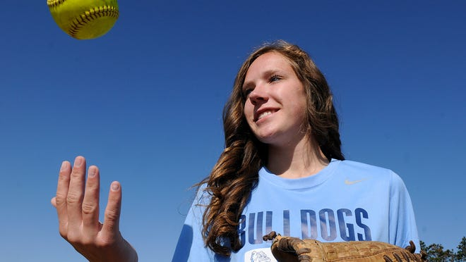 Becker's Allison Cieslak is the 2014 Times All-Area softball player of the year.