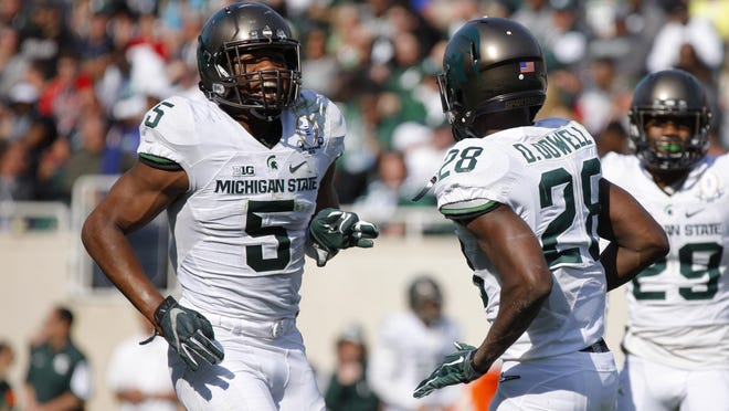MSU's Andrew Dowell, left, and David Dowell put in extra work to improve.
