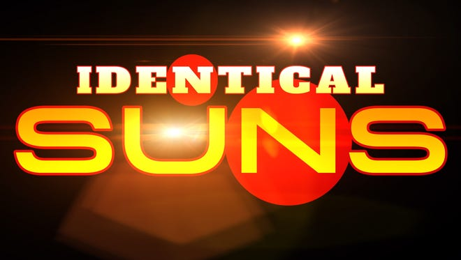 The cover to the self-titled album by the Identical Suns.