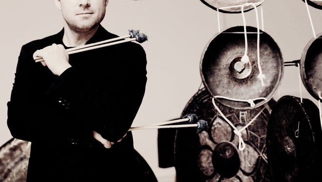 Colin Currie, a wizart on the percussion