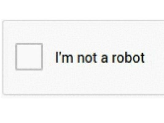 Just tell Google you're not a robot