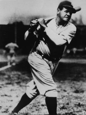 Babe Ruth spent the majority of his career with the Yankees in the American League so he didn't often visit Cincinnati.