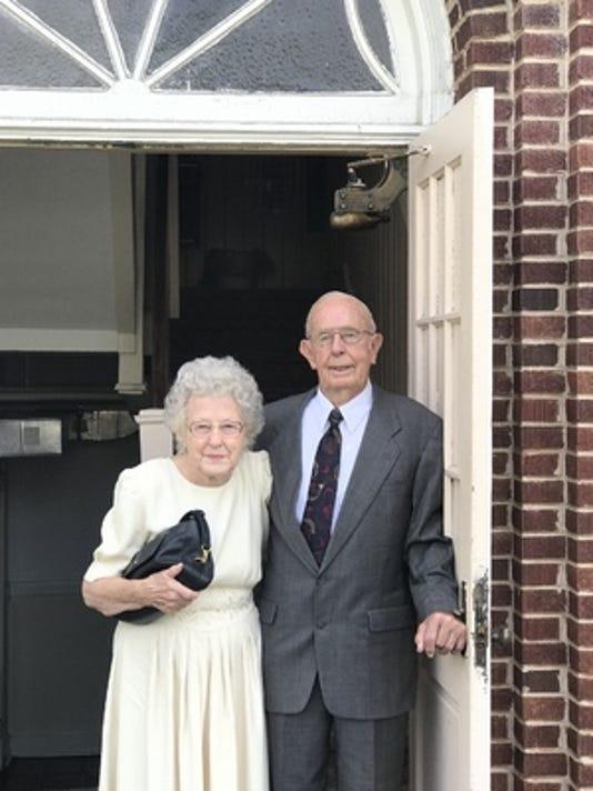 Anniversaries: John Holcombe & Rema Holcombe