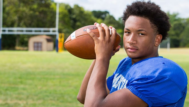 Hammonton senior quarterback and safety Malachi Winters expects big things in 2016 for his Blue Devils.