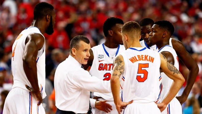 University of Florida men's basketball coach Billy Donovan will have another Horford to join the huddle next season.