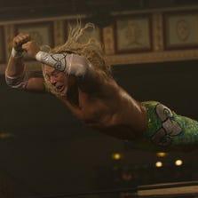 """Mickey Rourke in a scene from """"The Wrestler"""" (2008)."""