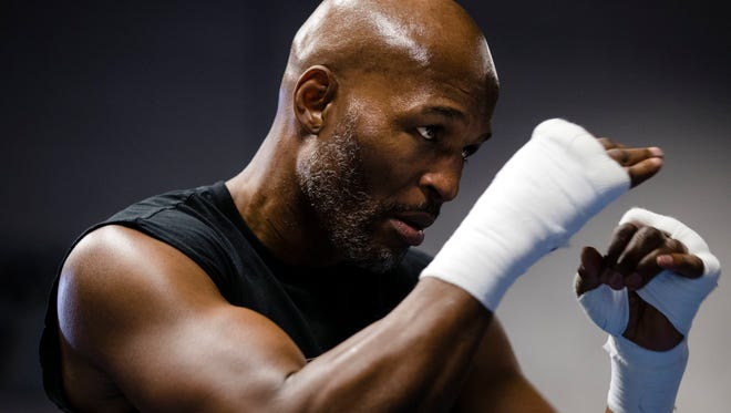 Bernard Hopkins, 51, will step into the ring one last time in his famed career when he faces Joe Smith at The Forum in Inglewood on Saturday night.