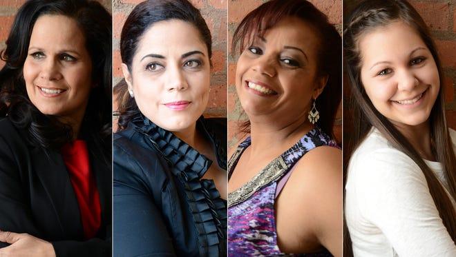 From left, Annette Ramos, Mercedes Vazquez Simmons, Gloria Sabastro, Natalie Hoppe