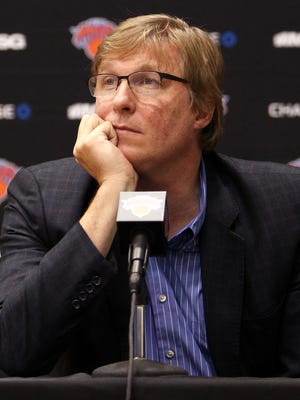 Glen Grunwald has shifted to adviser for the Knicks after being replaced as general manager.