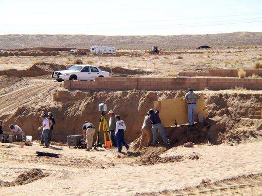 Desert Bodies Excavation Site