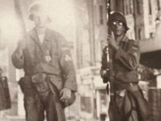 The National Guard in Newark in 1967.