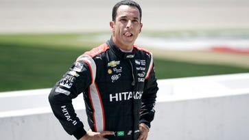 Helio Castroneves equally competitor, cutup
