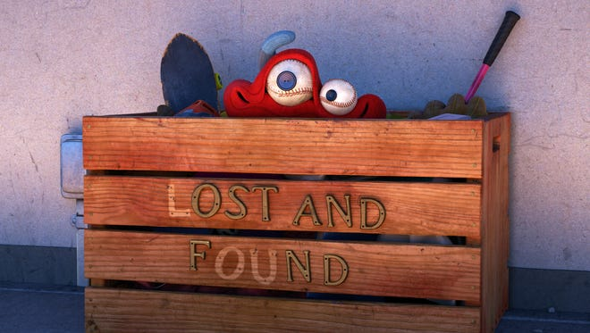 """When a toy-stealing bully ruins recess for a playground full of kids, only one thing stands in his way: the lost-and-found"""" box (aka 'Lou')."""