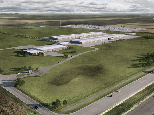 Apple Inc. will invest $1.3 billion in a data center in far western Waukee, near the intersection of Hickman Road and S Avenue.